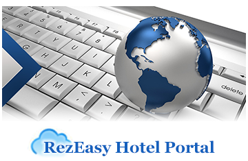 Hotel reservation portal for online booking